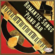 Romantische Lieder, Pianobar CD Vintage Zusammenstellungen/Carmen Cavallaro, Emil Stern...