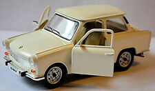 Trabant 601 S DeLuxe 1964-90 blanc blanc 1:24