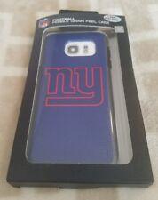 Samsung Galaxy S7 EDGE ONLY NY Giants NFL Football Pebble Grain Feel C