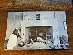 Vintage Postcard Court Yard Kitchen New Orleans St Louis Street Year?