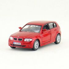 BMW 1 Series Model Cars 1:34 Toy Open two doors Collection Alloy Diecast Red New