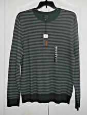 Marc Anthony Mens Size XXL Sweater Slim Fit Long Sleeve Gray Green NWT $65