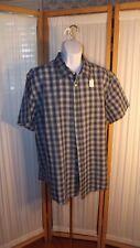 M27 Men's Cherokee 2XL Blue Long Sleeve Shirt