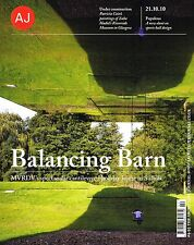 AJ ARCHITECTS JOURNAL 2010 Balancing Barn MVRDV Ravenscraig Sports Facility NEW