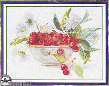 RTO  M003  Fruits  Cerises  Kit  Point de Croix  compté