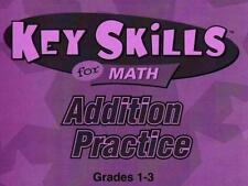 Key Skills For Math: Addition Practice PC MAC CD learn to add numbers, decimals!