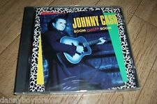Johnny Cash CD Boom Chicka Boom Cat's In the Cradle Harley Family Bible