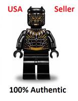Lego Erik Killmonger Golden Jaguar Minifigure Marvel Black Panther 76099 NEW!