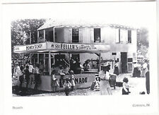 "*Postcard-""The Feller's Refreshment Stand"" -abt 1900- *Corydon, Indiana (#185)"