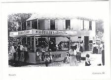 """The Feller's Refreshment Stand"" -abt 1900- *Corydon, Indiana  {Postcard} (#185)"
