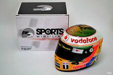 1/2 Lewis Hamilton McLaren 2011 INDIAN GRAND PRIX CASCO F1 Bob Marley difettosa