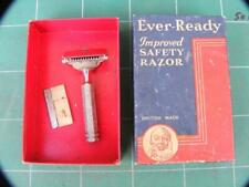 Vintage EVER READY Single Edge Improved SAFETY RAZOR with box