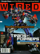 Wired 7/07,Transformers,Optimus Prime,Google Maps,Movie,The Gorillaz,July 2007