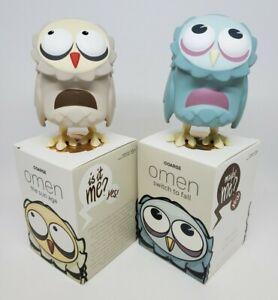 "Coarsetoys Coarse 3.5"" Omen Mini Owl Vinyl Art Toy Switch to Fall & The Sun Age"