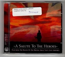 (GY554) Various Artists, A Salute To The Heroes - 2003 CD