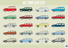 Volvo poster, As time goes by Estate