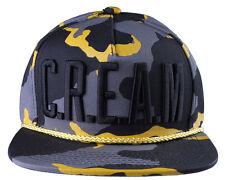 Wu Tang Brand Ltd Desert Swarm C.R.E.A.M. Camo Snapback Baseball Hat Cap NWT