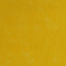 Yellow Wavy Lines Stripes 100% Cotton Fabric 1 1/8 YARDS Less WASTE