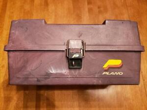 VIntage Plano 3 Tier Fishing Tackle Box Model 6303