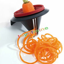 Hot Vegetable Spiral Slicer Fruit Cutter Peeler Spiralizer Twister Kitchen Tool