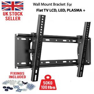 TV Wall Bracket Mount Slim For TV 32 37 40 42 50 55 60 65 70 inch LCD LED Plasma