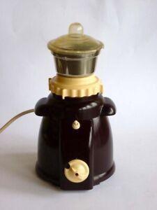 Antique coffee grinder bakelit design 1940s midcentury modern