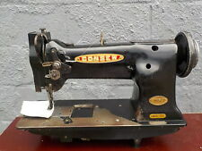 Industrial Sewing Machine Model Consew 225 Black single walking foot- Leather