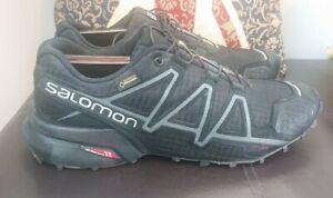 Mens Salomon Speedcross 4 GTX Gortex Waterproof Trail Running Shoes Size UK 9