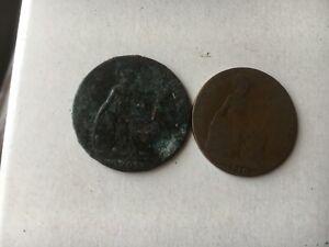 GB EDWARD 7 1902 1910 HALF PENNY Coins