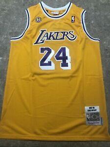 LA Lakers #24 Kobe Bryant  Men's Large 60th Anniversary Edition NBA Jersey
