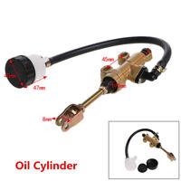 Gold Aluminium Motorcycle Hydraulic Pump Rear Brake Master Cylinder For Kawasaki