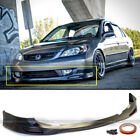 For 04 05 Honda Civic 24dr Jdm Pdm Style Front Bumper Lip Body Kit