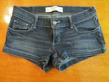 Juniors Gilly Hicks Cheeky Stretch Denim Shorts Size 2