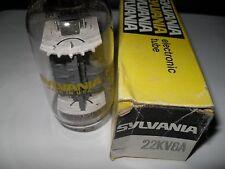 22KV6A SYLVANIA radio amplifier vintage electronic vacuum tube 22KV6 (Untested)