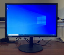 """Samsung Syncmaster S22b420bw 22"""" LCD Monitor with Stand and Cables"""