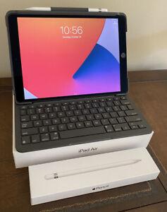 "Apple iPad Air 3rd gen 256GB WiFi 10.5"" Space Gray Custom Bundle"