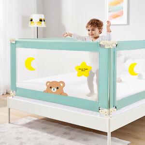 Universal Adjustable Baby Bed Rail Safety Guardrail Fence Crib 2M Enjiebaby