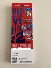 unused season hockey tickets Canadiens featuring Dale Weise nov 23.