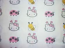 El aclaramiento FQ Sanrio Hello Kitty Bumblebee Ladybird Flores Tela Kitsch