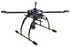 INTEGY RC C25864BLUE Custom Carbon Fiber Quadcopter Upgrade Frame 550 Foldable