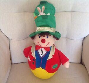 BOOTS Vintage 80's Amazing Mr Wobble Clown Plush Toy Excellent Condition