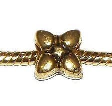 Flowers & Plants Gold Charms & Charm Bracelets
