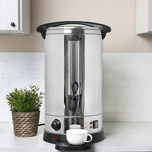 Electrical 22L Commercial Catering Kitchen Hot Water Boiler Tea Urn 2500w