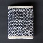 Hemp Wallet - Tri Fold, Durable (blue pattern) | FREE SHIPPING