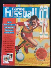 Panini Fussball Buli Bundesliga 1992 Saison 92 / 93 mit über 50% Stickern Bilder