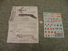 Decals Carpena decals 1/72 72-43 Migmania Mig-17    N134