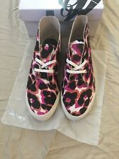 Nine West Womens Optics Pink Fashion Sneakers Shoes 6 Medium (B,M) New in Box