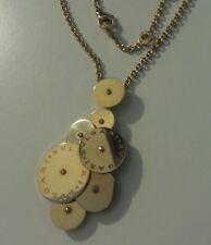 Collana/Ciondolo Bulgari Cicladi/Cyclades,Oro giallo 18 carati (750).34,85grammi