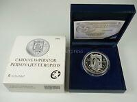 *** 10 Euro Gedenkmünze SPANIEN 2006 PP Proof Kaiser Karl V Silber Spain ***