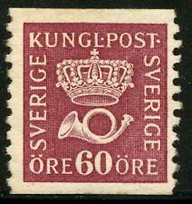 Sweden 1926 60 ore Type Ii Crown & Posthorn Facit 163 Mnh (*)